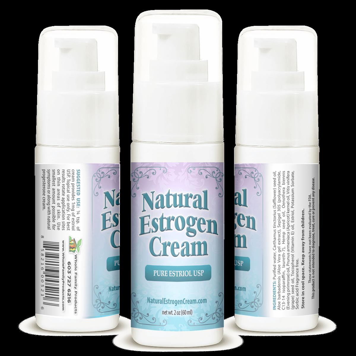 Best Natural Estrogen Cream 2oz Pump Helps Women Increase Libido